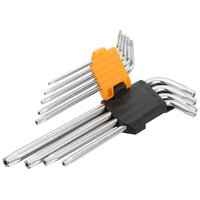9PCS TORX LONG ARM HEX KEY SET