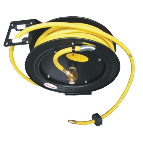 HD Retractable Rubber Air Hose Reel