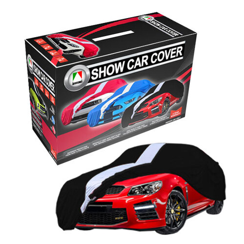 Show Car Cover Large Black