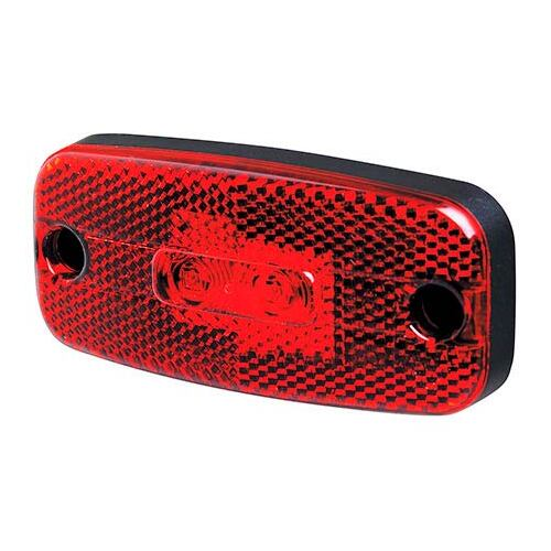 Rear Marker Light Red LED 24V