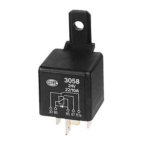Mini Relay 24V Change Over 22/10A