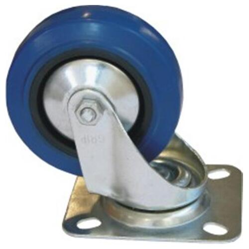 100mm Blue Castor - Stationary