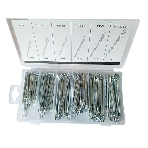 144 Pc Large (Split) Cotter Pin Assortment Metric
