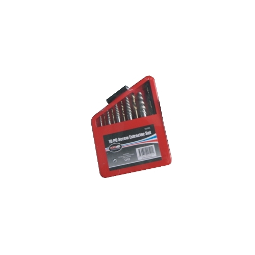 10 Pc Screw Extractor Set M2 Steel