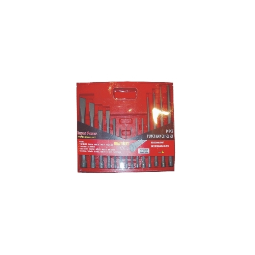 14 Pc Punch and Chisel Set