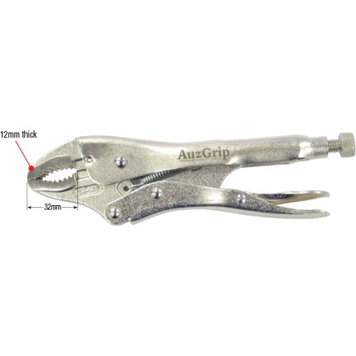 Locking Plier Curved Jaw 250mm