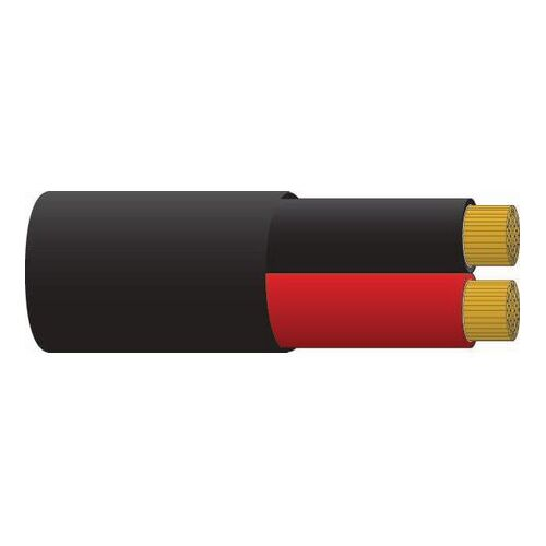 Battery Cable Twin 8 B&S Sheathed - Red/Black 30m