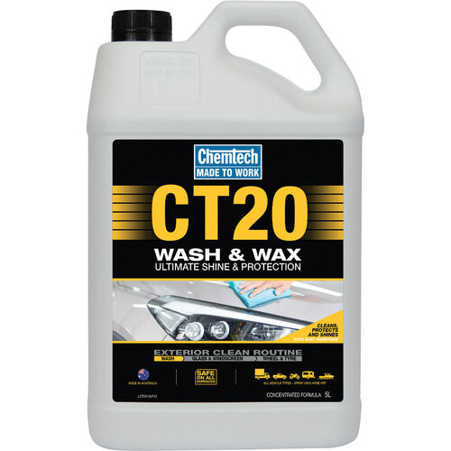 CHEMTECH CT20 WASH N WAX 5LT