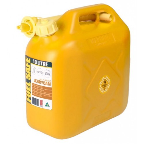 FUEL CAN 10LTR YELLOW