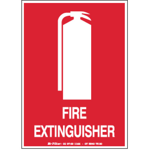 FIRE EXTINGUISHER 100X140MM