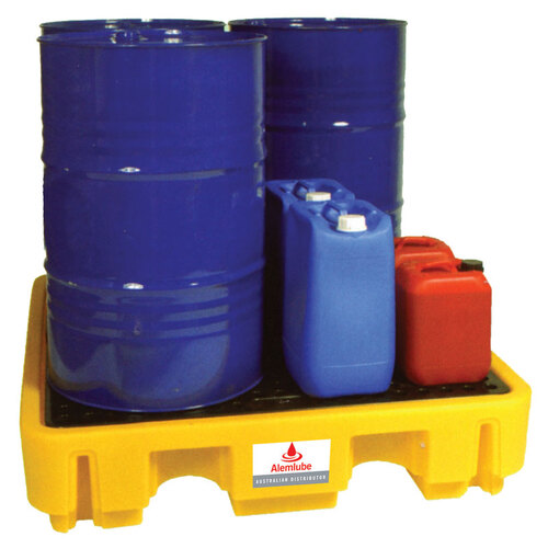 Spill Containers holds up to 4 205lt Drums