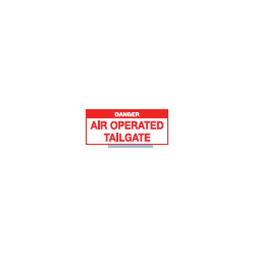 Air Operated Tailgate Sticker