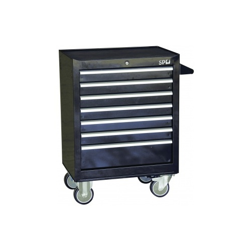 ROLLER CAB BLACK CUSTOM 7 DRAWER