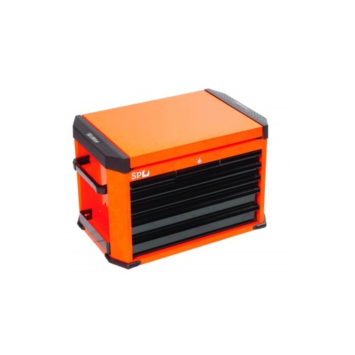 MOTORSPORT CONCEPT SERIES 7 DRAWER ORANGE/BLACK