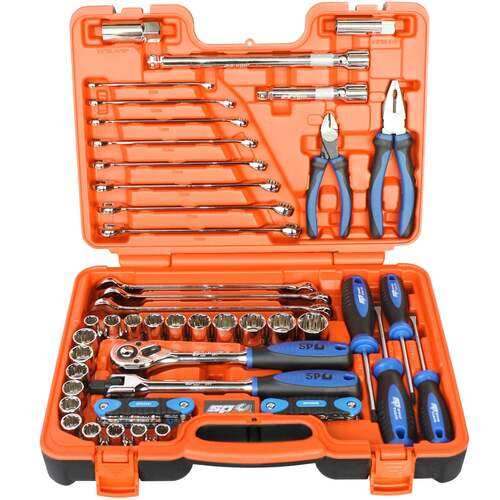 TOOLKIT 60PC METRIC/SAE IN X-CASE