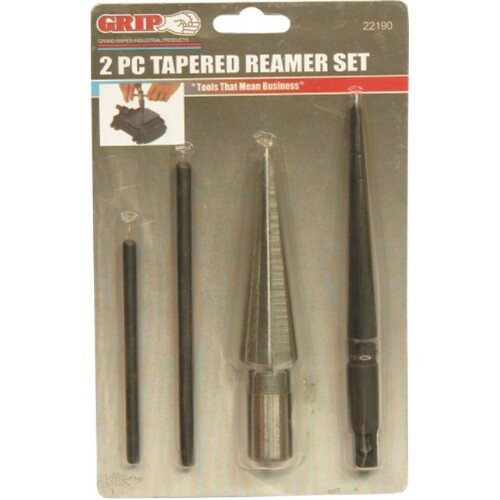 2 Pc Tapered Reamer Set