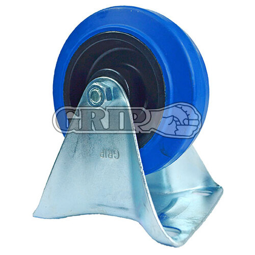 200mm Blue Castor - Stationary