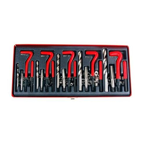 131 Pc Metric Thread And Helicoil Repair Kit