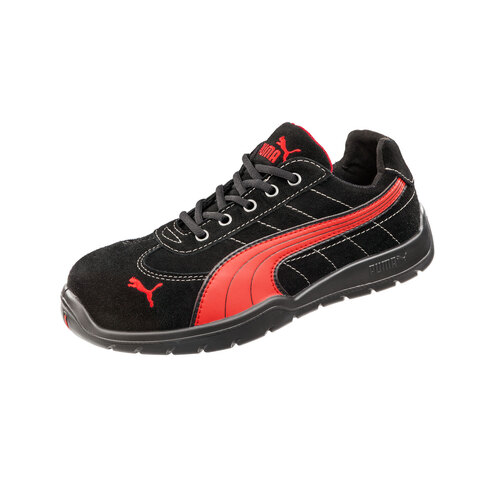 Boot Puma Safety Jogger Suede Blk/Red  42