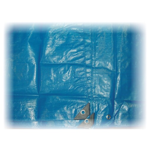 Blue Tarpaulins - 4' x 6' / 1200 x 1800mm..