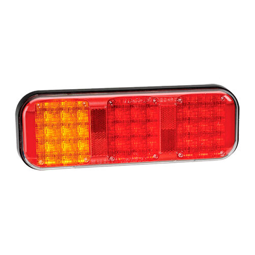 9-33 Volt L.E.D Rear Twin Stop/Tail And Direction Indicator Lamp