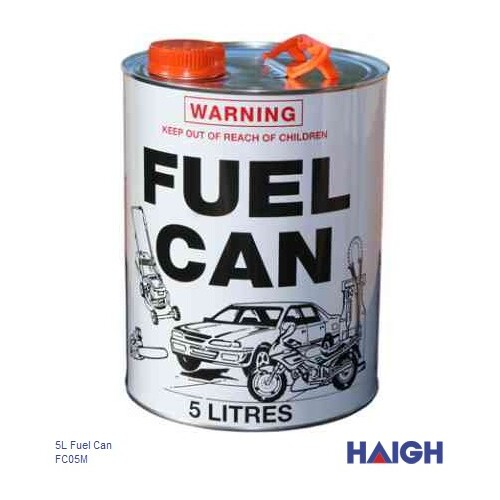Fuel Can 5Ltr Metal