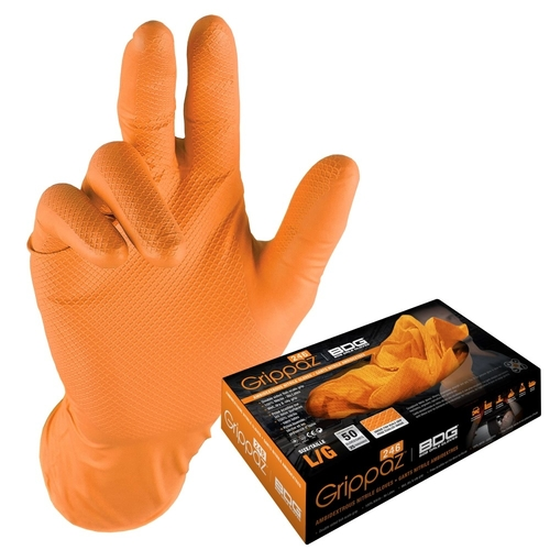 Glove Grippaz Orange Size Medium