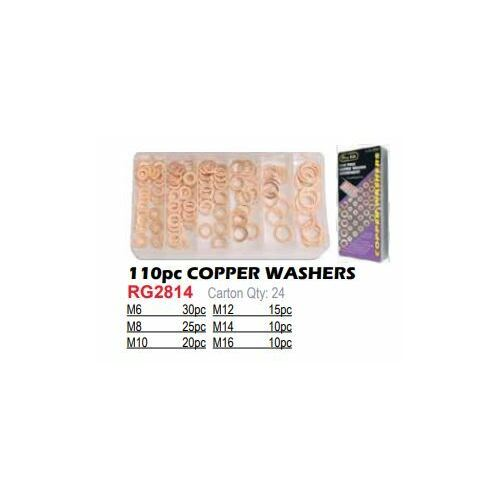 Washer Copper 110Pc Assortment.