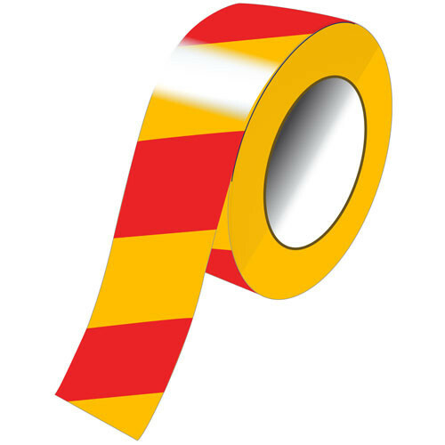 Conspicuity Tape Yellow/Red 1Mtr