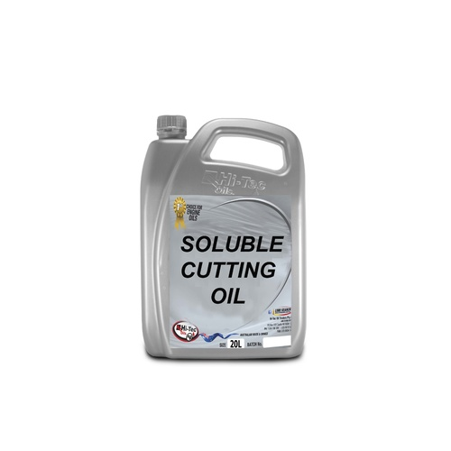 CUTTING OIL SOLUBLE 5LT TURNS MILKY WHITE WHEN WATER IS ADDED