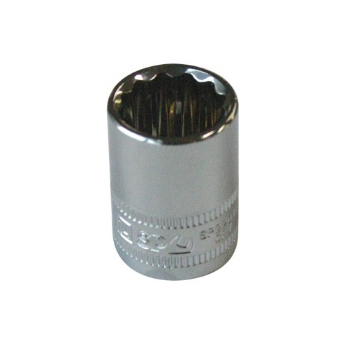Socket 1/2''Dr 12Pt Metric 19Mm