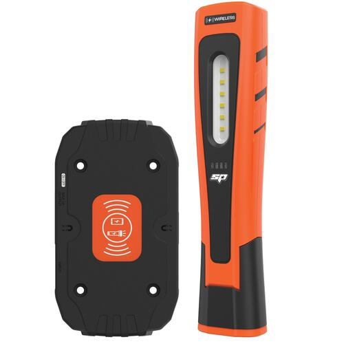 Led Wireless Charge Hand Held Torch